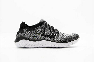 a8bb7874b56 NIKE FREE RN Flyknit Black White Oreo Womens Running 2018 ALL NEW ...