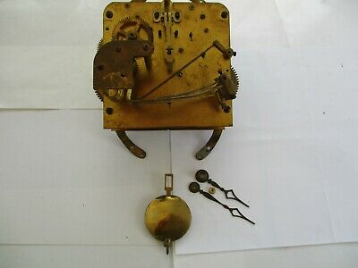 Vintage/Antique Mantle Clock mechanism(1920-40)