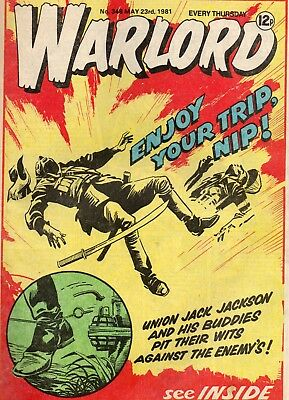 Warlord 348 May 1981 Uk War Comic Good Condition See Scan