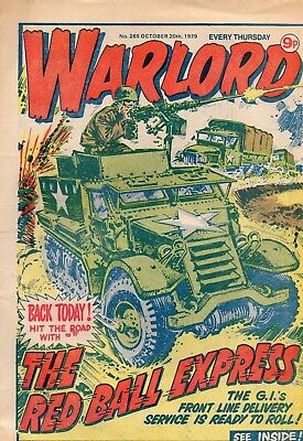 Warlord Uk War Comic Issue 265 Good Condition See Scan