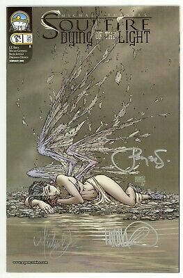 Soulfire Dying Of The Light (2005) #5 Cv A Signed Turner Steigerwald Gunnell NM