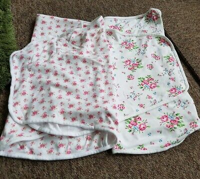 Moon & Stars 2 swaddle wrap blankets floral age 0-3 months