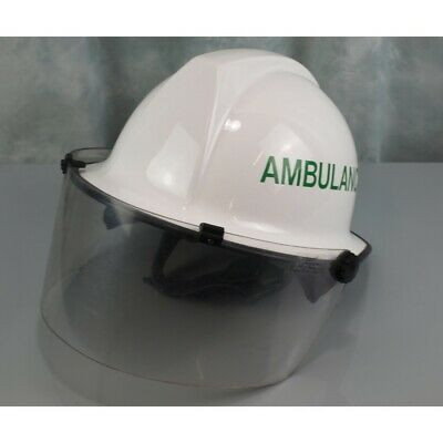 Ambulance Emergency Helmet Cromwell F500L with face shield and neck protection