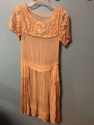 Antique 1800 Silk Dress Edwardian Style