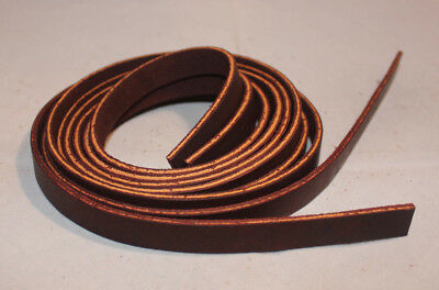 "Lace Leather Saddle Strings - 3/8"" x 60"" - Burgundy Latigo - Pack of 6 (F272)"