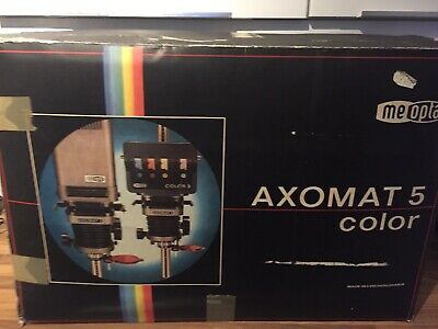 Vintage Meopta Axomat 5 Color Photographic Enlarger Anaret In Original Box