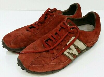 d0f790de8c3 Merrell Women s Air Cushion Shoes 8 Sprint Blast Suede Leather Red Maroon  USED