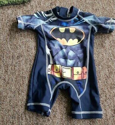 Next Batman all in one sun swimsuit age 3-6 months