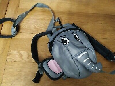 Baby Kids Rucksack Backpack Bag Mini Me Detachable Safety Reins elephant