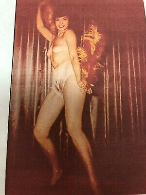 Bettie Page Color Negative Photograph Pin-Up Rare