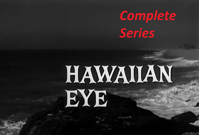 Hawaiian Eye - Complete Tv Series - All 4 Seasons - Best Quality Available