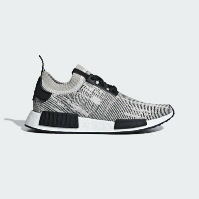 brand new 27a36 8528e Adidas NMD R1 PK Primeknit Runner Nomad Boost Sesame Branch Core Black Size  11
