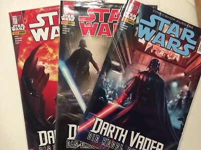Marvel: Star Wars 37, 38 & 39 : Darth Vader (Panini, 2018) *neu*