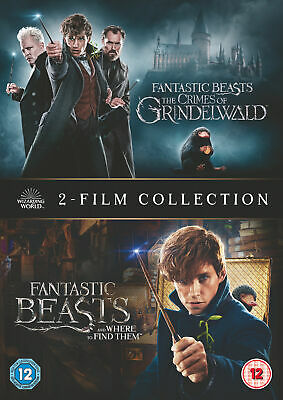 Fantastic Beasts 2-Film Collection (DVD) Harry Potter / JK Rowling