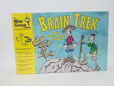 Brain Trek Science Activity Game New & Sealed by The Wild Goose Company