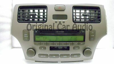 2002 - 2006 Lexus ES300 ES330 OEM 6 Disc CD Changer AM FM Radio Receiver P6850