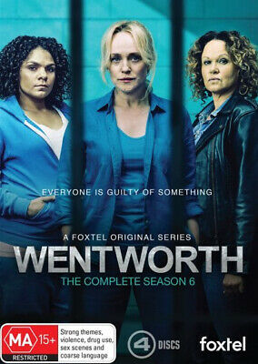 Wentworth: Season 6 [Region 4] - DVD - Free Shipping. Acceptable Condition.