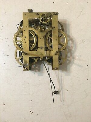 Antique Wall Clock Movement Anglo American Jerome New Haven Era