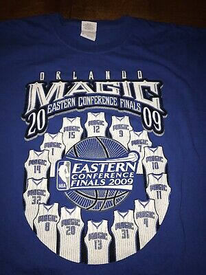Vintage NBA Orlando Magic 2009 Eastern Conference Finals T Shirt Size XL