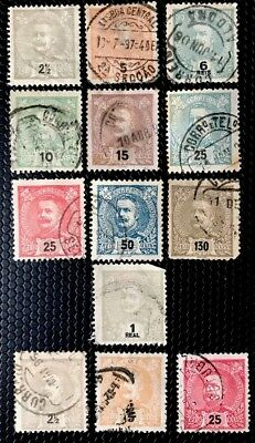 Portugal Stamps Sc 110//127 Used