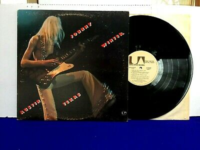 Johnny Winter AUSTIN TEXAS 1973 United Artists Canada Canadian Blues rock