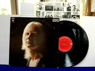 JOHNNY WINTER Self Titled Original 1969 Columbia 2 eye 360 sound Blues Rock