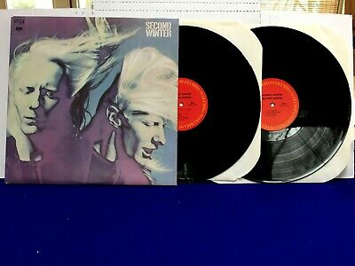 Johnny Winter SECOND WINTER 1980 Columbia 3 Sided double lp gatefold NICE!!