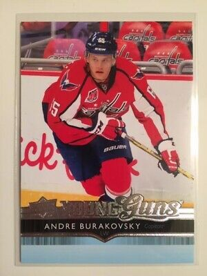 2014-15 UD Hockey Series 2 YOUNG GUNS #467 Andre Burakovsky