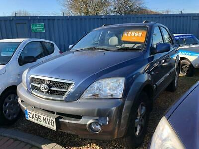 2006 56 Kia Sorento 2.5 Xe Crdi 5D 139 Bhp Sold By Us Before Once Before  Diesel