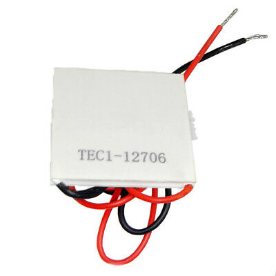 1 Pc 12V 60W Cooling Plate Heat Sink Thermoelectric Cooler Peltier TEC1-12706