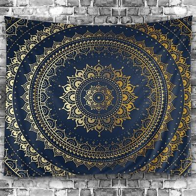 Mandala Print Tapestry Hippie Wall Hanging Inidian Art Bedspread Home Decor New
