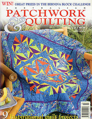 Patchwork & Quilting Vol 5 #4 1998 Sewing Craft Projects & Patterns Included