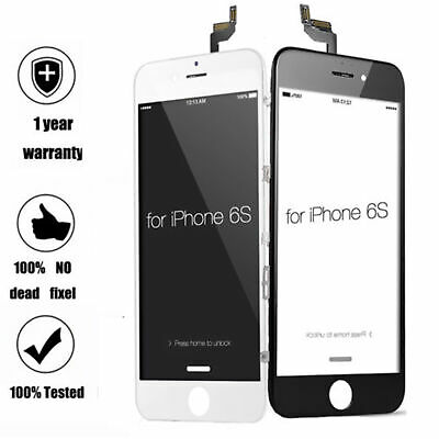 For iPhone 6s A1633 A1688 A1700 LCD Display Touch Screen Replacement Blakc White