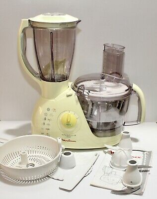 Moulinex Ovatio 3 Duo AT7 - Food Processor With Manual - Working