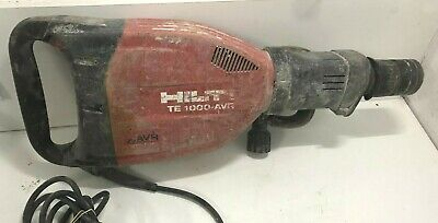 Hilti TE 1000-AVR Heavy Duty Demolition Jack Hammer Breaker - Bids From $1