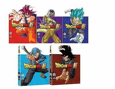 Dragon Ball Z Super Anime Series Complete Part 1-5 DVD Set Collection Bundle Box