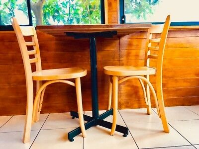 Cafe chairs timber X12