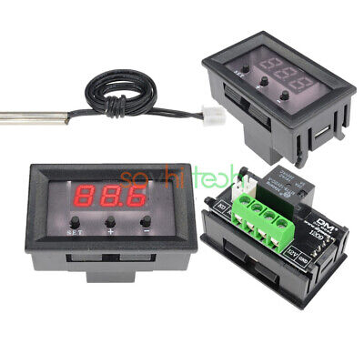 W1209 12V Red LED Digital Thermostat Temperature Controller Sensor Switch Case