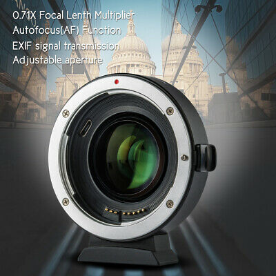 Viltrox EF-EOS M2 Auto Focus Lens Mount Adapter Ring for Canon EF Lens W9R8