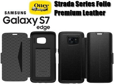 on sale 1f2c5 1a953 AUTHENTIC OTTERBOX STRADA Series Leather Wallet Case Samsung Galaxy ...