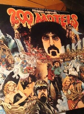 Frank Zappa Original 1971 Album--200 Motels--With Original Insert--Never Played