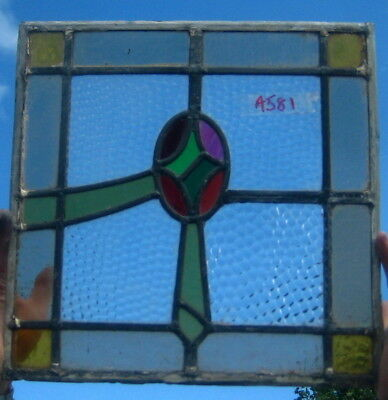A581 Stained glass    Ca 1910s