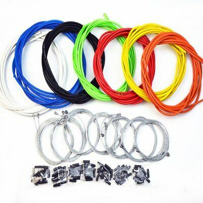 Jagwire Front & Rear Brake Gear Cable Set Inner Outer MTB Mountain Bike Bicycle
