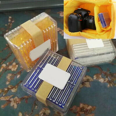 Reusable Silica Gel Desiccant Humidity Moisture Absorb Dry Box For Camera Eagers