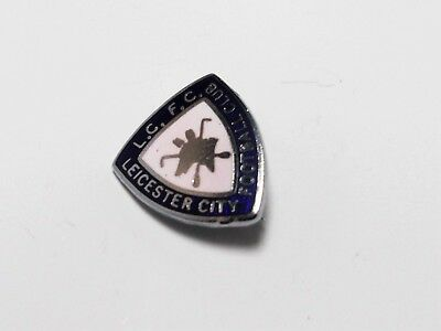 Leicester City Fc - Vintage Small Enamel Crest Badge