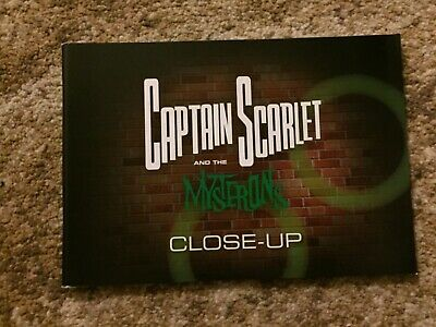 Gerry Anderson Captain Scarlet Mysterons Close Up Guide Book Supermarionation