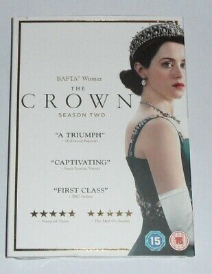 Brand New In Box The Crown Season 2 DVD Box Set Sealed Free Postage
