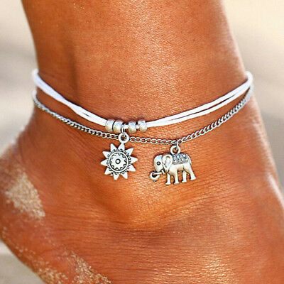 Women Girl Metal Foot Chain Jewelry Ankle Talus Band Fashion Accessory Love Gift Easy And Simple To Handle Anklets