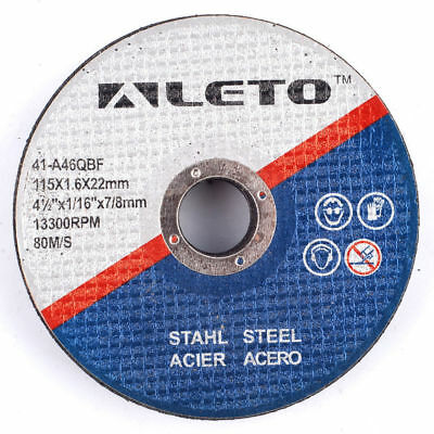 "Pack 5X Thin Metal German Engineered Cutting Disc 115Mm 4.5"" Angle Grinder Blade"