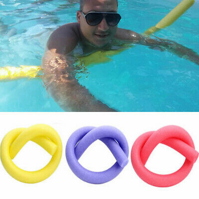 1-2 pcs Pool Noodle Water Floating Foam Swimming Solid Core Aid Safe Swim Tool